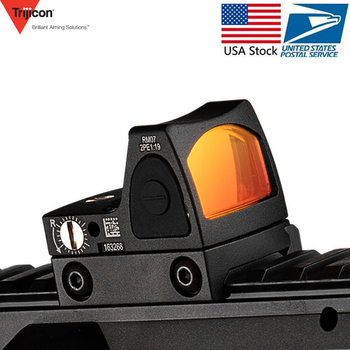 Мини RMR Регулировка Сфера/Коллиматорный прицел Collimador Glock Airsoft 20 мм Железнодорожный Уивер/охотничьего ружья прицел ak 47