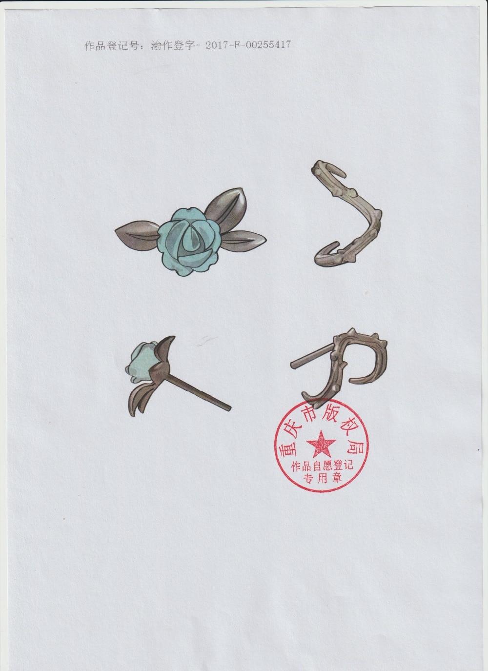 HTB13A22EH1YBuNjSszeq6yblFXaU Thaya s925 Silver Thorn Blue Crystal Rose Design Black Stud Earrings for Women Asymmetry Flower Earring Female Jewelry Gift