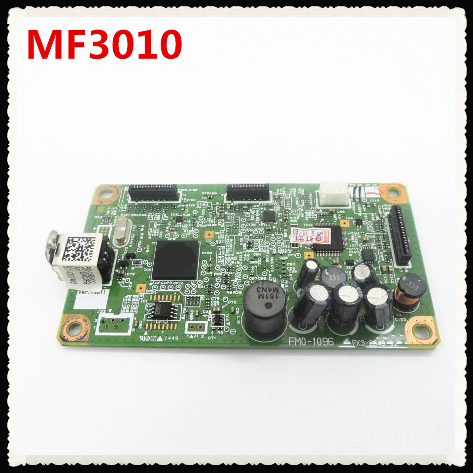 Formatter Board For canon MF3010 MF-3010 MF 3010 logic Main Board MainBoard mother board FM0-1096 FM0-1096-000 image
