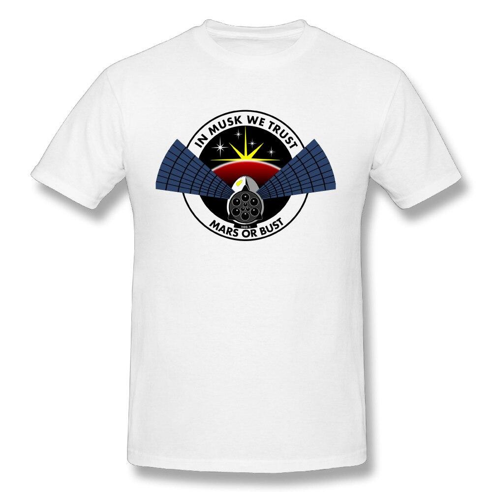 8de2c5fc0 GILDAN Elon Musk T Shirt Space X Popular Men's 100% Cotton Tee Shirts Round  Neck Streetwear T-shirt
