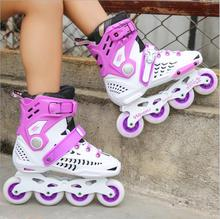 Adult skates breathable design -11 high-speed bearings comfortable anti-abrasive flat skates men and women roller skate shoes new adult double row roller skates four wheel skates adult men and women outdoor skates shoes