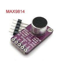 Módulo de placa amplificadora MAX9814, micrófono AGC, Control de ganancia automática para Uno, relación programable de ataque y liberación, THD bajo