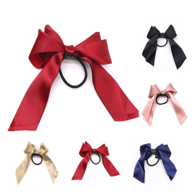 Ribbon Shaped Elastic Hair Band