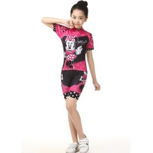 Kids Cycling Jersey Summer Children Bike Jersey Shirts Bicycle Clothes Quick Dry Cycling Clothing Long Sleeves