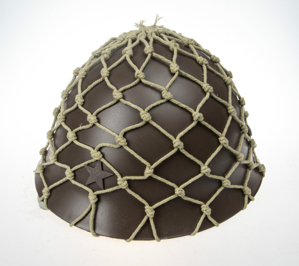 US $43 19 10% OFF WWII Military Gears Sale JAPANESE WW2 Iron Steel Type 90  HELMET With Net Cover-in Sports Souvenirs from Sports & Entertainment on