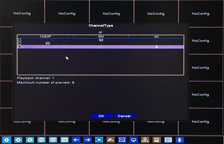 Image 3 - Dahua Panel Hi3536C 5mp XMeye Surveillance Video Recorder H.265+ 32CH 32 Channel one SATA IP Onvif  WIFI CCTV NVR-in Surveillance Video Recorder from Security & Protection
