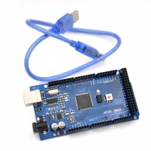 Mega 2560 R3 Mega2560 REV3 (ATmega2560-16AU CH340G) Board ON USB Cable Compatible for Arduino With USB Cable