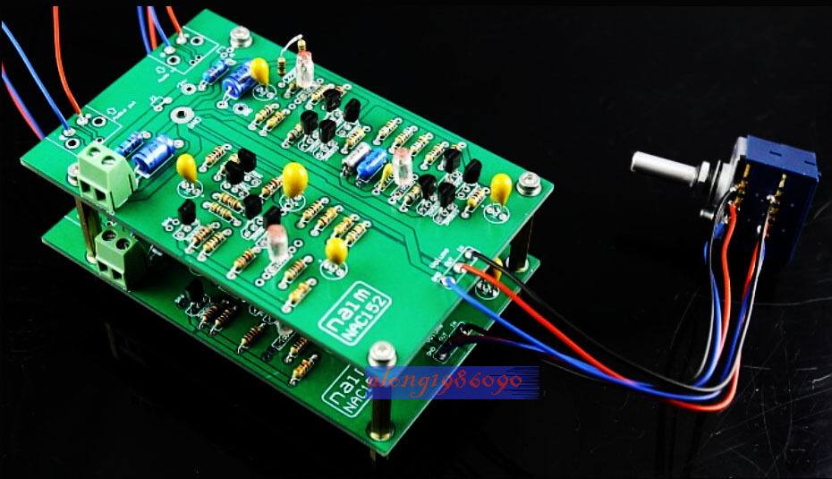 NEW Sep_store Assembled 2-Channel NAC152 preamp board base NAIM NAC152XS preamplifier naim nac 552
