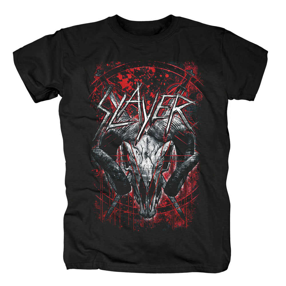Bloodhoof SLAYER Speed Metal heavy metal nuovo nero T-SHIRT in cotone