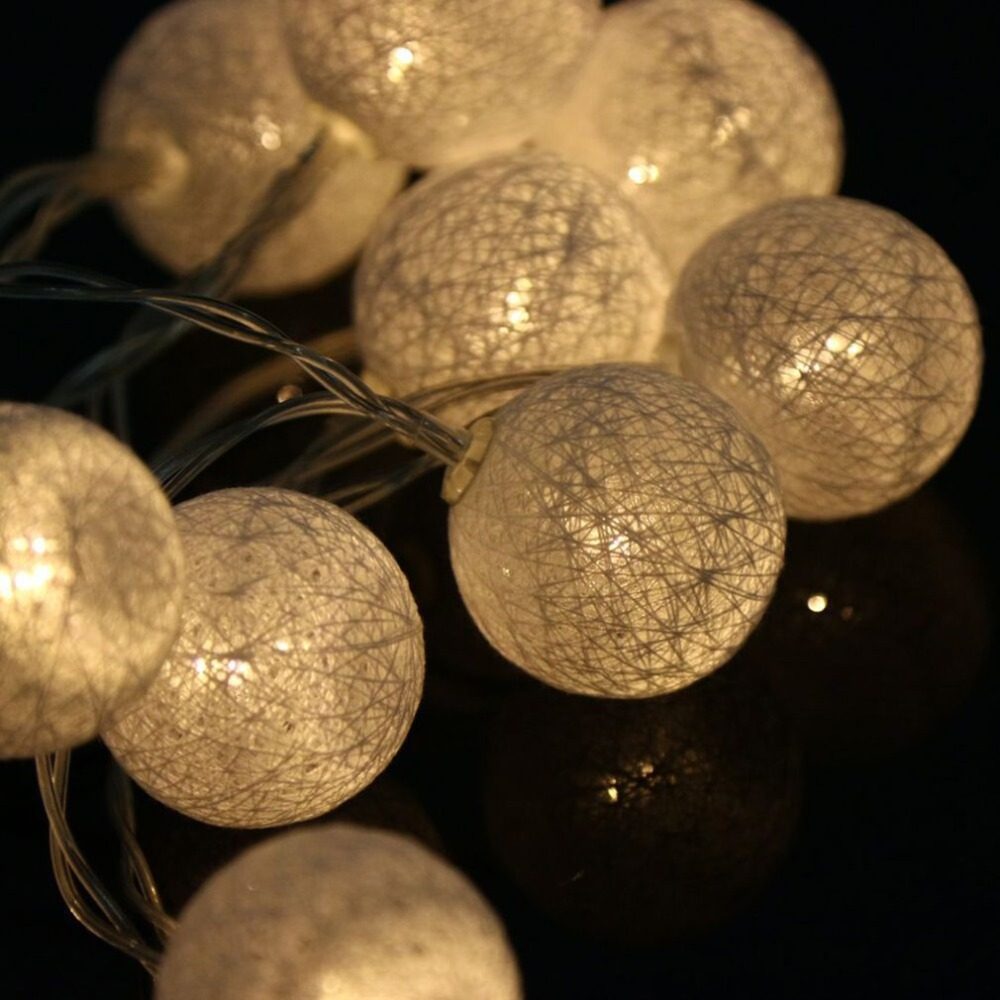 LED String Copper Wire Fairy Lights Battery Xmas Party Fairy Decor Lamp US KY