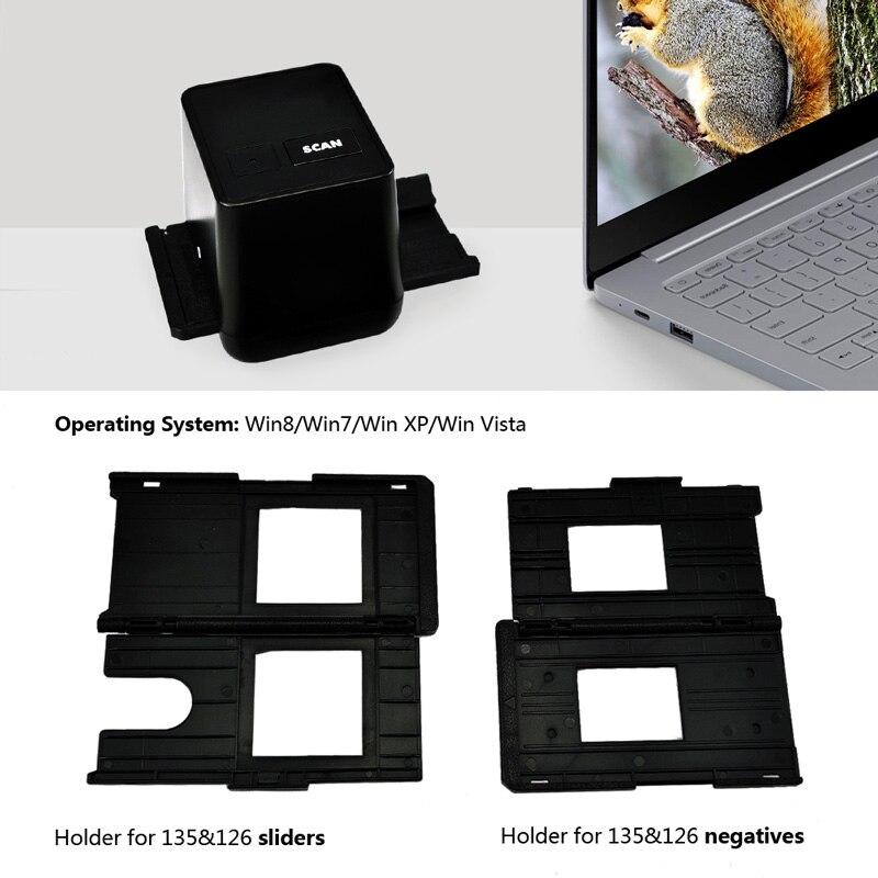 Scanner de Film haute résolution numérisation et Capture 17.9 méga Pixels 135 convertisseur de Film et de diapositives 35mm Scanner de Film négatif - 3