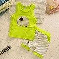 Новый 2016 Лето Дети комплект Одежды, дети футболка + брюки 2 шт. набор, мальчиков, одежда стиль Дети спортивный костюм детская Одежда