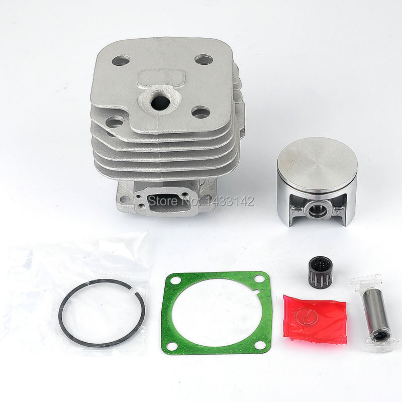 цены New 52mm Cylinder Piston Kits for HUSQVARNA 61 268 272 272K 272XP Chainsaw Chain saws Parts Free Shipping