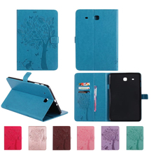 Tab E T560 Flip PU leather case Cover stand Flower print case stand for SAMSUNG Galaxy Tab E 9.6 sm T560 T561 SM-T561 case shell