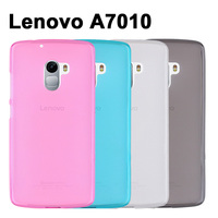 Lenovo A7010 Case Cover 4 Colors Matte TPU Soft Back Cover Phone Case For Lenovo vibe A7010 A 7010