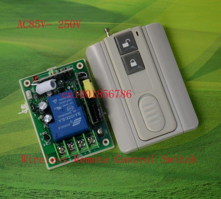 El poder más elevado AC85V-250 V 3000 W RF Control Remoto Inalámbrico Interrupto