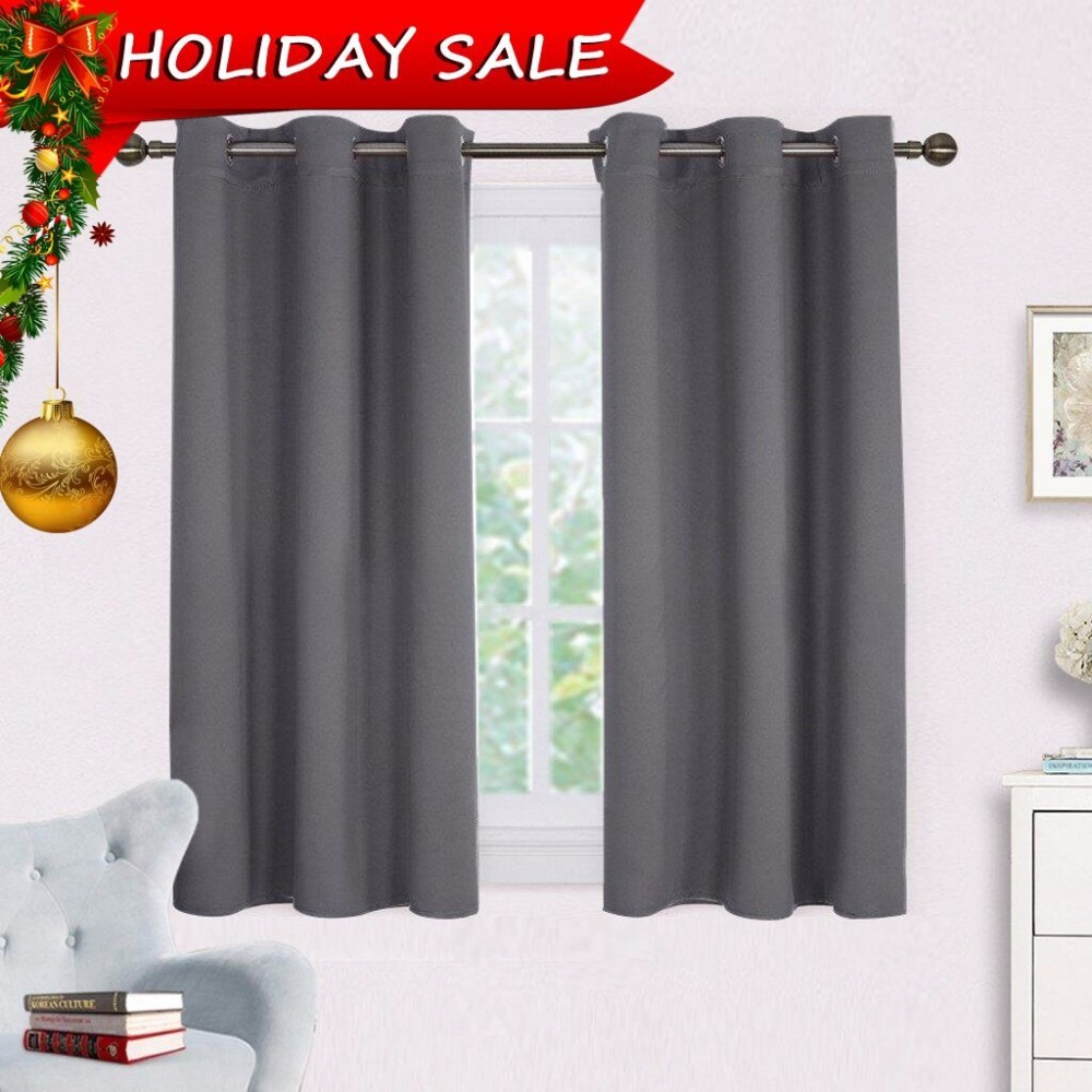 Nicetown Blackout Curtains Panels For Bedroom Window Treatment