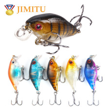 JIMITU 2019 new fishing lure isca artificial jig minnow carp wobbler spoon spinner bait black top water