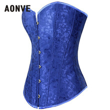 Blue Gothic Steampunk Bodice / Wedding Lingerie Corsets
