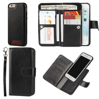Function Case Mobile Phone Bag For IPhone 6 Fundas Leather Wallet Mobile Phone Bag For IPhone