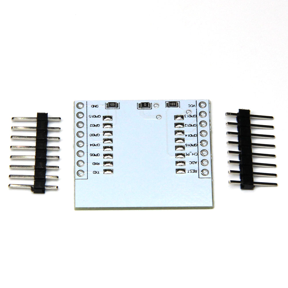 10pcs/lot ESP8266 serial WIFI module adapter plate Applies to ESP-07, ESP-08, ESP-12 iot esp8266 wireless wifi serial module esp 07s