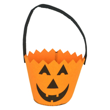 Top Grand Halloween Smile Pumpkin Bag Kids Candy Handbag Bucket Children Cute mini Bags Funny Gift bags