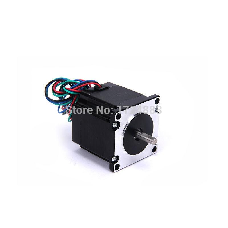High torque 57 Stepper Motor 2 PHASE 4-lead Nema23 motor 57BYGH24 53.5MM 3.5A 1.3N.M LOW NOISE (23HS2401)  motor for CNC XYZHigh torque 57 Stepper Motor 2 PHASE 4-lead Nema23 motor 57BYGH24 53.5MM 3.5A 1.3N.M LOW NOISE (23HS2401)  motor for CNC XYZ