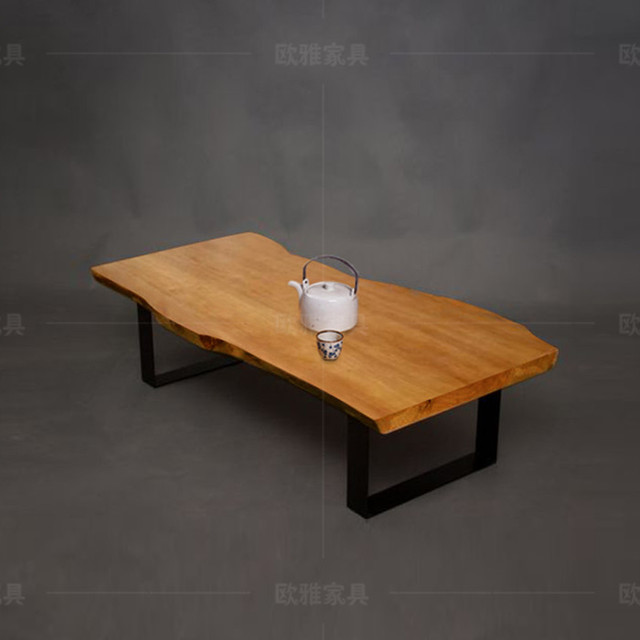 American Retro Living Room Tea Table Wood Coffee Chinese Style Personality Casual Office A Few Tables