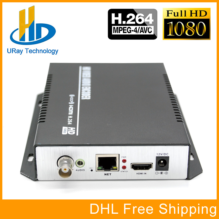 URay MPEG4 H.264 Live Streaming Video Encoder HDMI + CVBS /Composite /TV IP Encoder H.264 WIth RTMP UDP RTSP HLS uray 3g 4g lte hd 3g sdi to ip streaming encoder h 265 h 264 rtmp rtsp udp hls 1080p encoder h265 h264 support fdd tdd for live