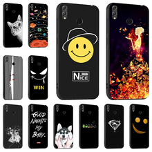 Phone Fashion Black Silicone Case For Huawei Honor 8X Max Cover Soft TPU 8A