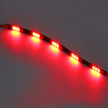 Car Accessories High quality 2Pcs/Set Auto Lamps Car Daytime Running Lights Car Fog Lamps DC 12V Waterproof 15 SMD Universal