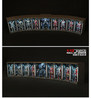 For Collection TOYS BOX 1/12 Comicave SHF Display Box Fit Iron Man Figure MK45 /MK46 /MK43 /MK42 /MK41/ MK25/MK1 /MK2/ MK5/ MK3