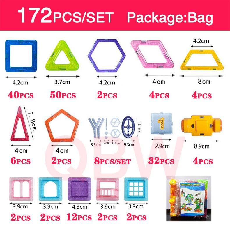 172pcs-bag