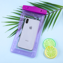 High Quality Easy To Carry Multi-color Optional Universal PVC Swimming Mobile Phone Waterproof Pouch Bag All Models 3.5-6 Inch tteoobl t 02l universal waterproof pvc phone bag black