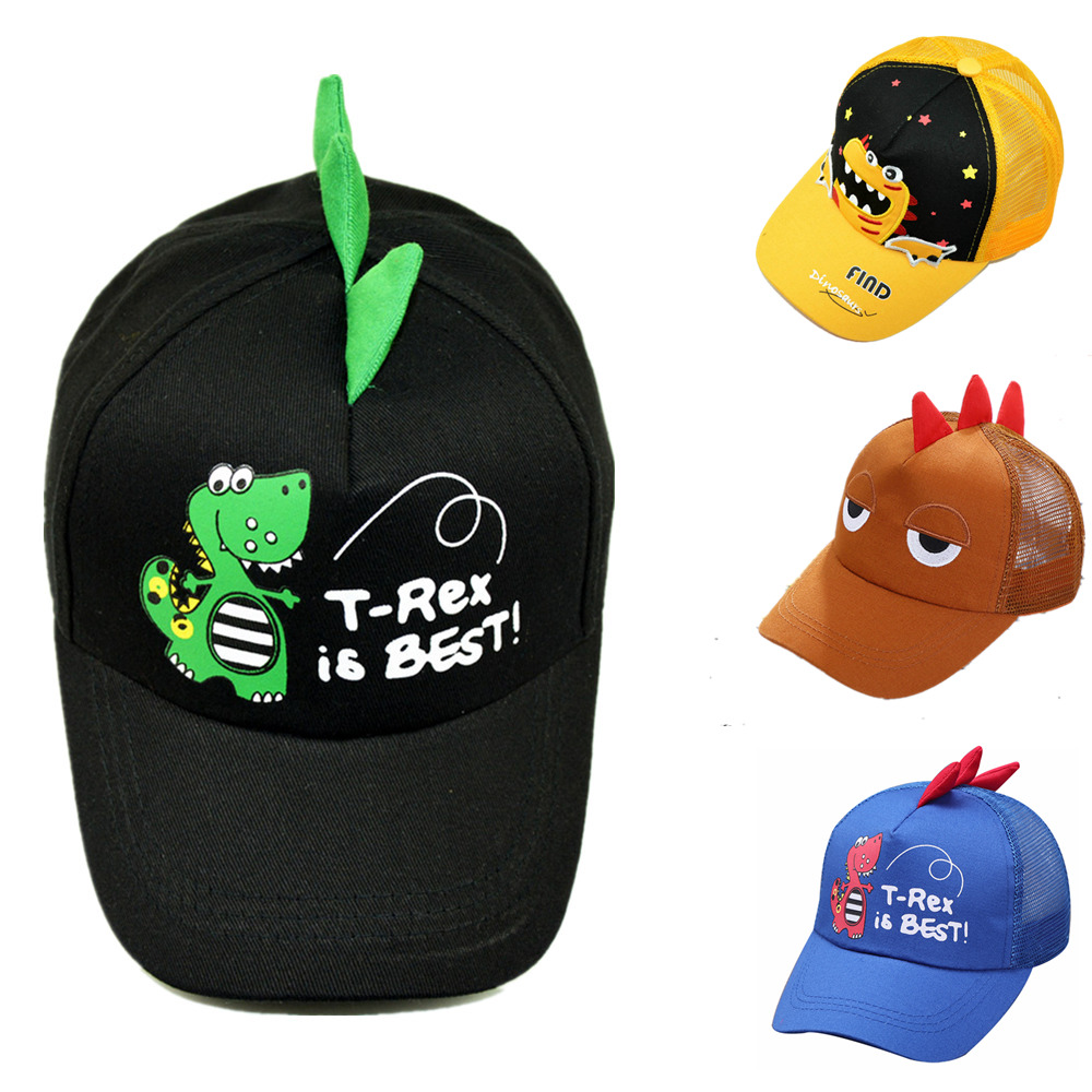 Shoes Cartoon Dinosaur Baseball Cap Cute Baseball Hat Cap For