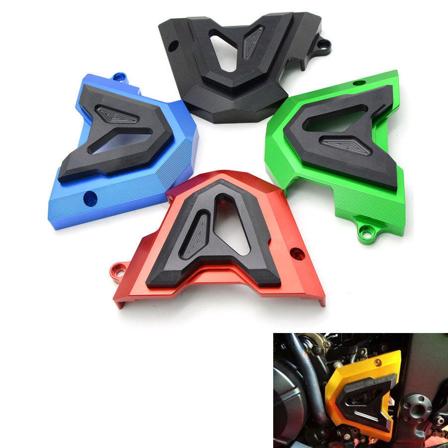 Moto Falling Protectors Motorcycle CNC Aluminum Frame Slider Motorcycle Anti Crash Caps For kawasaki ninja 300 250 z250 Z 250