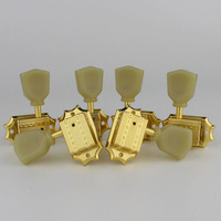 Grover Deluxe Vintage 135 Keystone Vintage Style Guitar Machine Head Tuning Peg Tuners for lespaul Guitar Gold Made in China