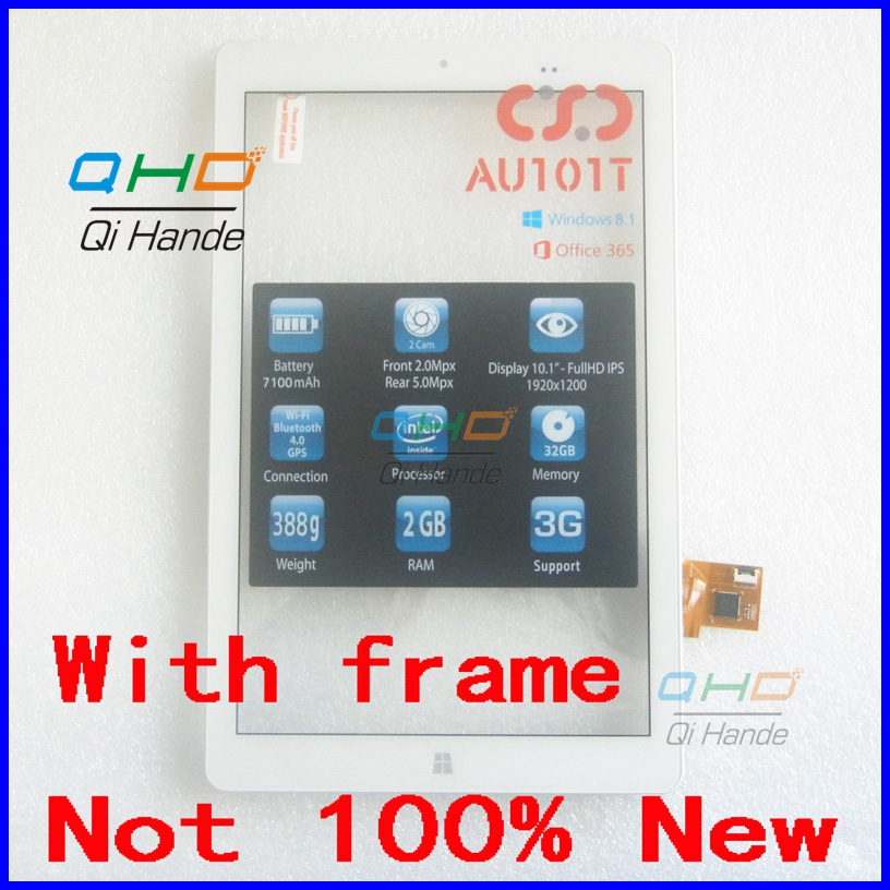 101 inch FPCA-10A01-V02 Tablet Touch Screen Panel Digitizer Glass Sensor with Frame Replacement Free Shipping new white 10 1 inch tablet 10112 0b50550 touch screen panel digitizer glass sensor replacement free shipping