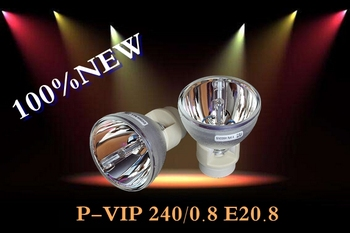 NEW PROJECTOR BARE LAMP BULB FOR OSRAM P-VIP 240/0.8 E20.8