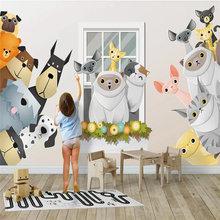 Пользовательские фото обои мультфильм детская комната Гостиная