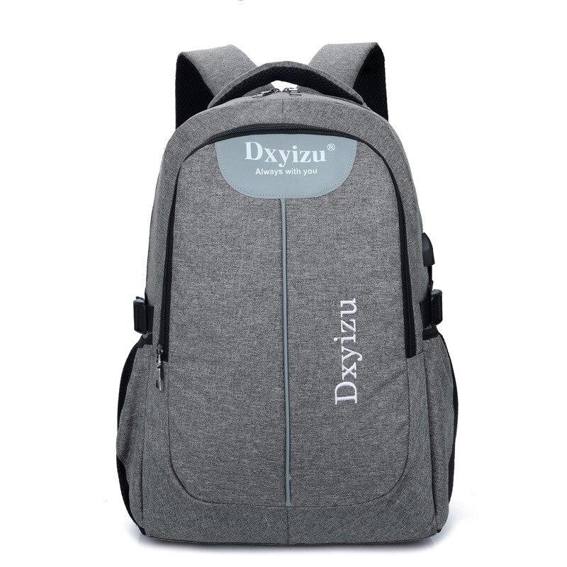 New Mens Backpack 14 Inch 15 Inch Notebook Laptop Backpack Men School Bag Large Capacity Rucksack Male Travel Bolsa Mochila