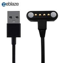 Zeblaze Тор 4 Смарт-часы 65 см Длина зарядный кабель с Порты и разъёмы Магнитная USB Мощность зарядный кабель