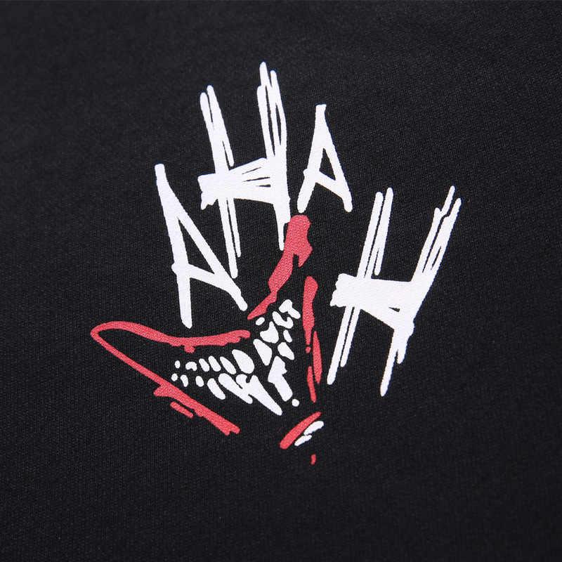 GXXH Мужская толстовка худи большого размера мужской круглый воротник Повседневный хип-хоп мультфильм печати толстовка с капюшоном с длинными рукавами Осень Свободный с капюшоном мужской