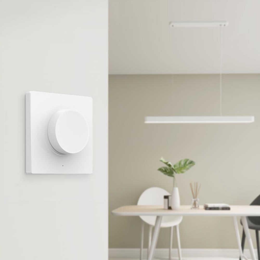 Xiaomi Yeelight Smart Dimmable Dinding Switch/Saklar Nirkabel untuk Yeelight Lampu Plafon Lampu Remote Control Dimmer