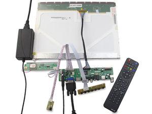 "Image 2 - TV HDMI TV56 AV VGA Audio USB LCD LED Controller board kit Card DIY For LP154WX4(Tl)(D2)/TLD4 1280X800 15.4"" Screen"