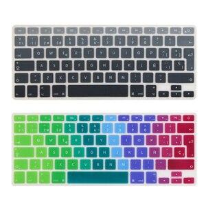Чехол для испанской и европейской клавиатуры ES, для Mid 2009-Mid 2015 MacBook Pro 13 15 дюймов Retina/CD ROM A1502 A1425 A1278 A1398 A1286
