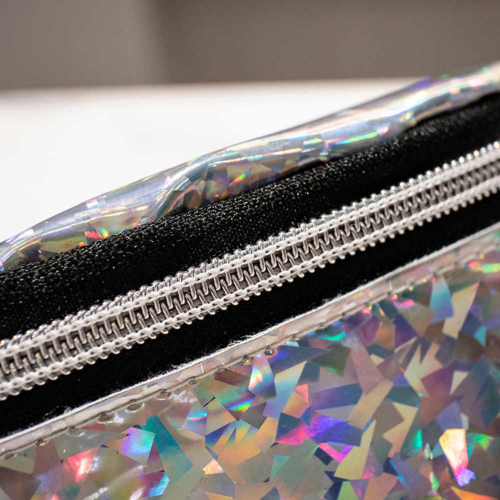 Aelicy красочный лазер сумка с талией Женская мода для бега женские мужские спортивные Чехлы для телефона сумка через плечо нагрудная сумка