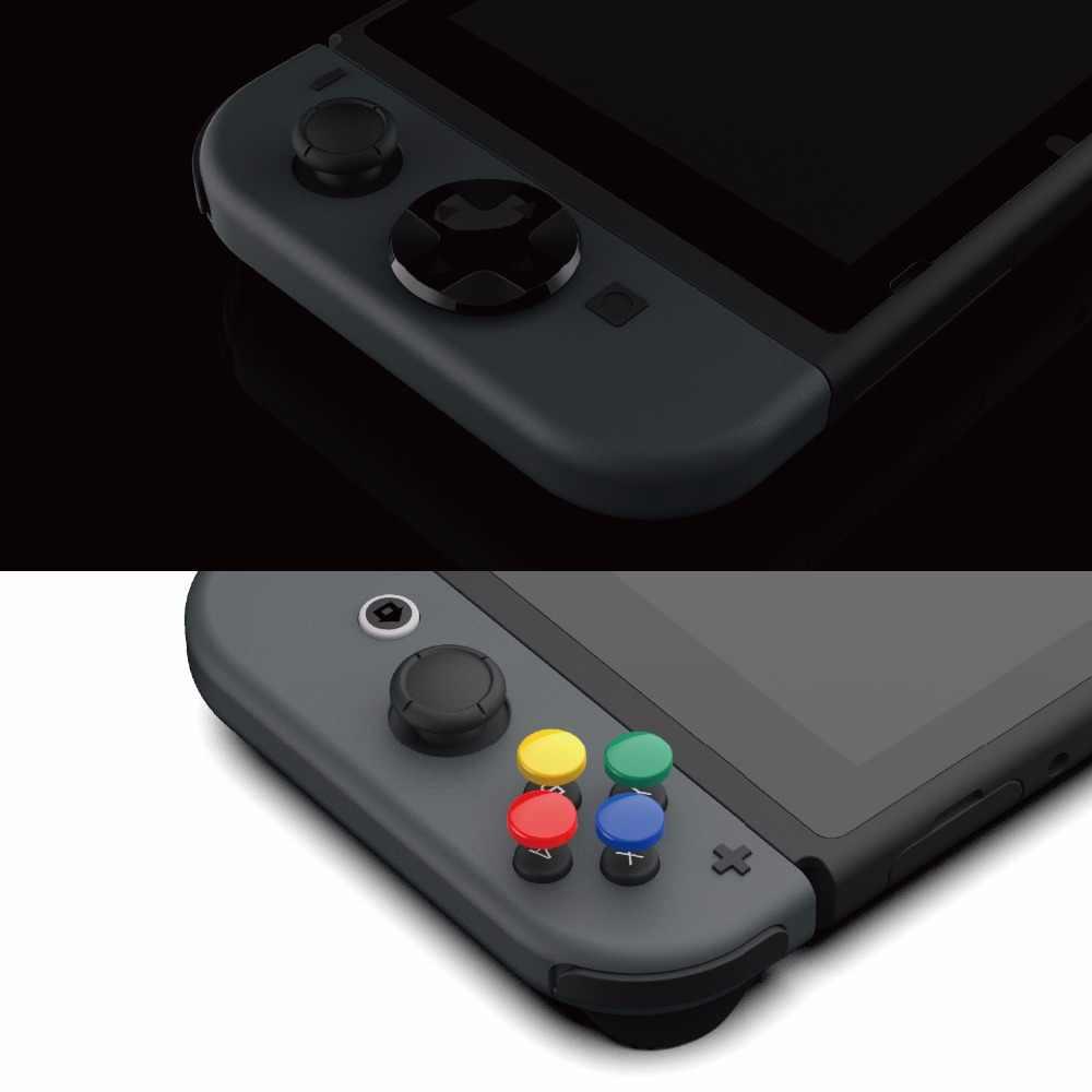 Cráneo & Co Animal cruce D-Pad botón tapa Set para Nintendo interruptor controlador de alegría-Con