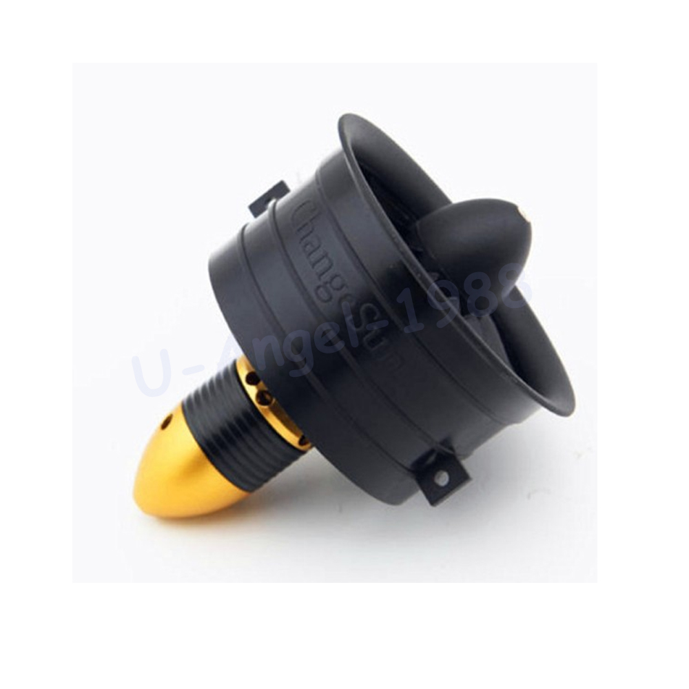 1 set Change Sun 64mm Ducted Fan 12 Blades with EDF 3s 3200KV kv3200 motor all set+free shipping