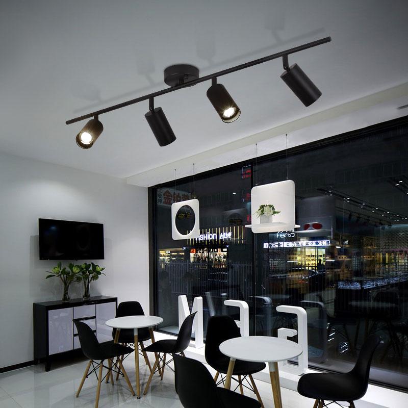 Nordic Creative GU10 LED MINI Lighting Creative Commercial Clothing Store Industrial BAR SHOP COFEE Wind Corridor Backwall Light